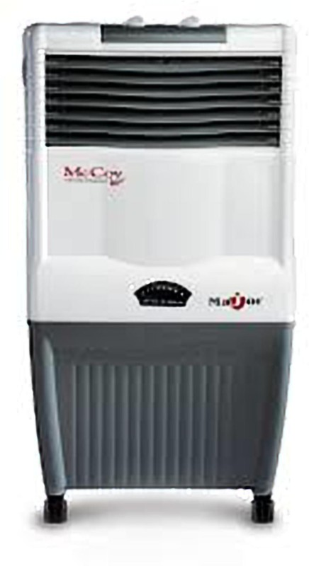 mccoy MAJOR Personal Air Cooler(WHITE/GREY, 34 Litres)