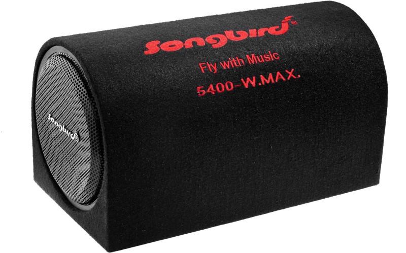 Songbird sb-777 10 inch 5300 Watt MAX Subwoofer BassTube with INBuilt Amplifier Subwoofer(Powered , RMS Power: 800 W)