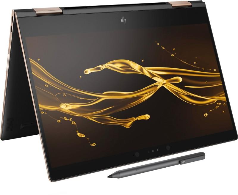 HP Spectre x360 Core i5 8th Gen - (8 GB/360 GB SSD/Windows 10 Pro) 13-ae502TU 2 in 1 Laptop(13.3 inch, Dark Ash SIlver, 1.26 kg) image