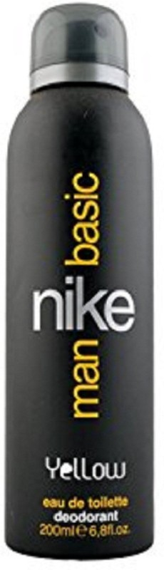 Nike YELLOW Body Spray - For Men(200 ml)