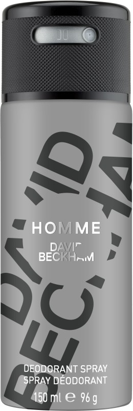 David Beckham Homme (New) Deodorant Spray - For Men(150 ml)