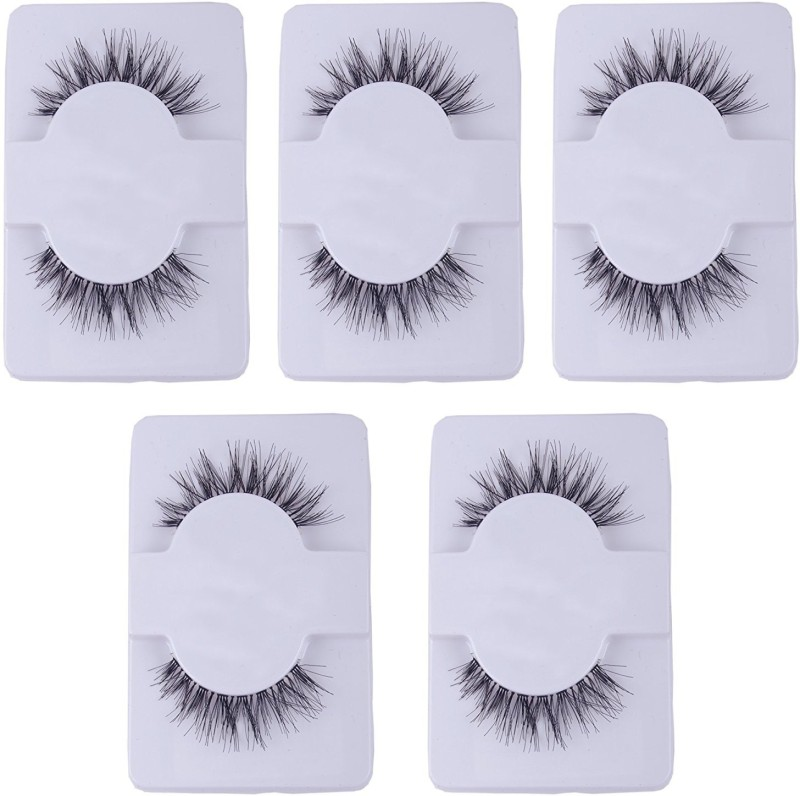 Confidence Eyelashes For Women And Girls For Party Make Up(Set of 5 Pairs)(Pack of 10)