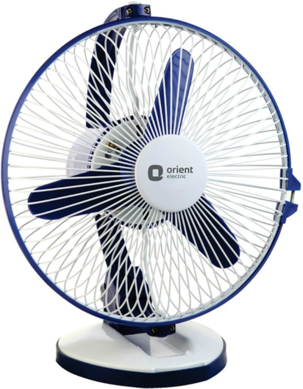 Orient Electric Zippy Hi-speed Multi-utility 3 Blade Table Fan(White)
