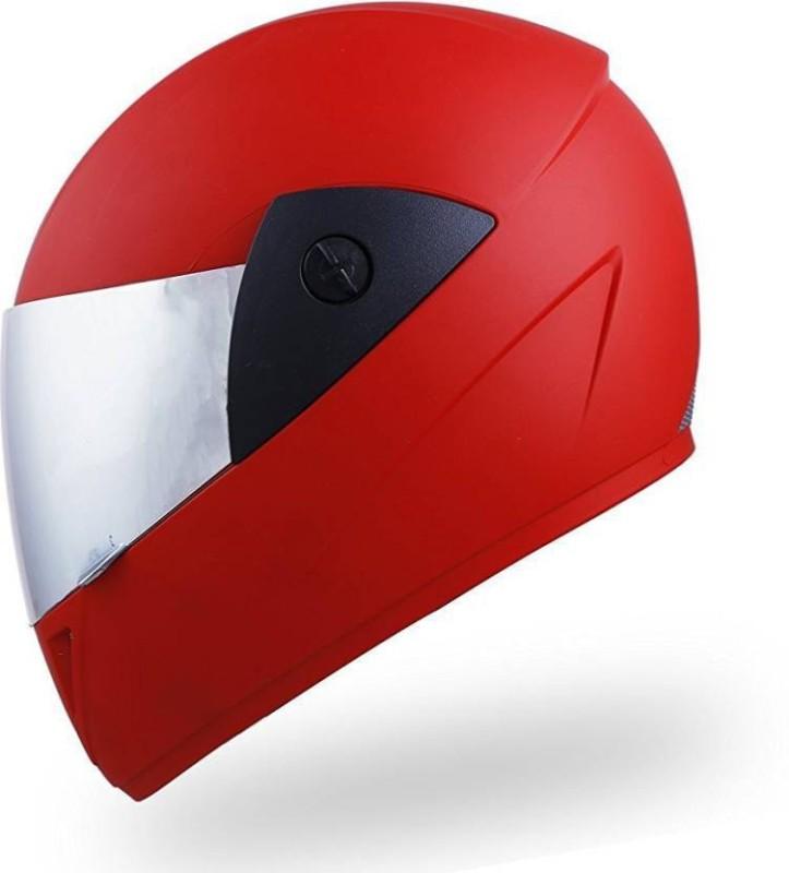 MOTOFLY ZOOMDX Motorbike Helmet(Red)