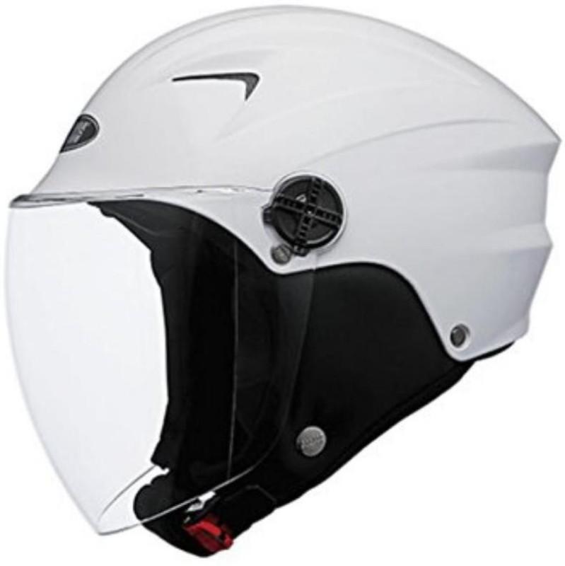MOTOFLY sproty Motorbike Helmet(White)
