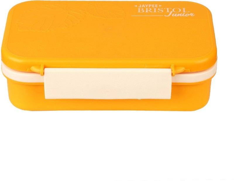 Jaypee Bristol Jr. Lunch Box Yellow 2 Containers Lunch Box(750 ml)