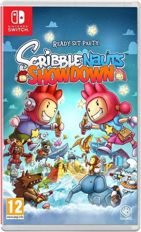 Scribblenauts Showdown: Ready, Set, Party(for Switch)