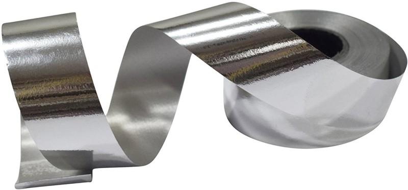 Shrih SHF-2025 Silver Polypropylene Ribbon(Pack of 1)