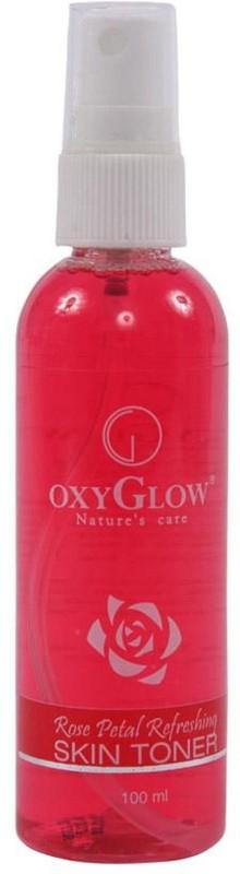 Oxyglow Rose Petals Refreshing Toner(100 ml)