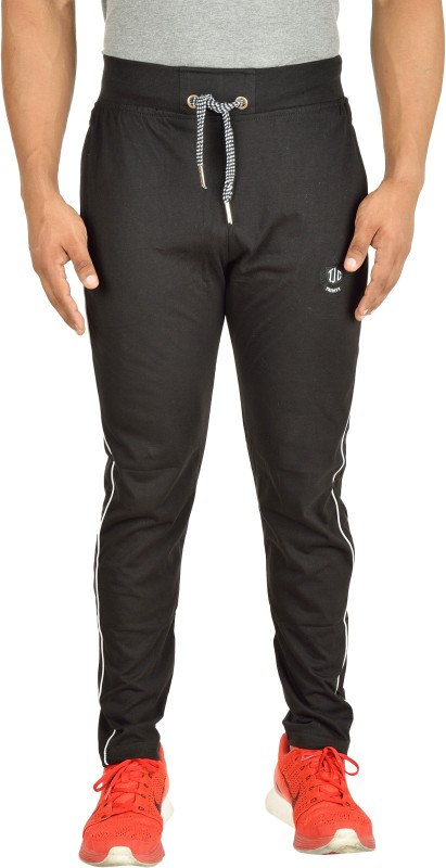 TRINITY JEANS COMPANY Solid Men's Black Track Pants