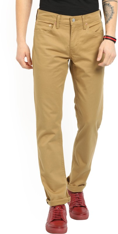 Levis Slim Fit Mens Gold Trousers