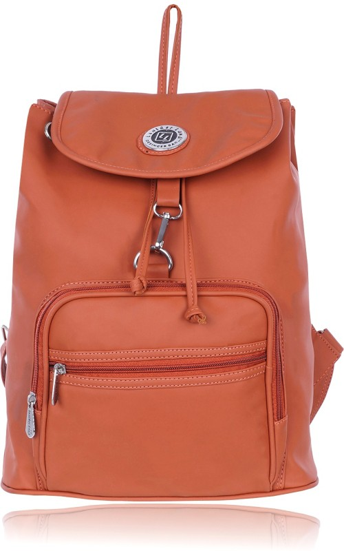 Leather Land Imported Smooth Leather In TAN 5 L Backpack(Tan)