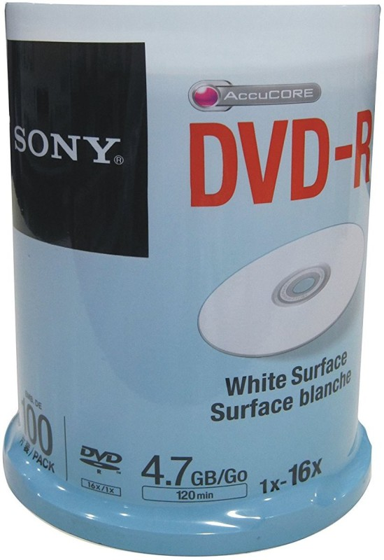 Sony DVD Recordable 0 4.7 GB