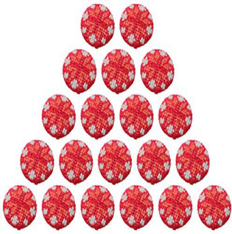 Fabric and Lace BT005f Metal Buttons(Pack of 20)