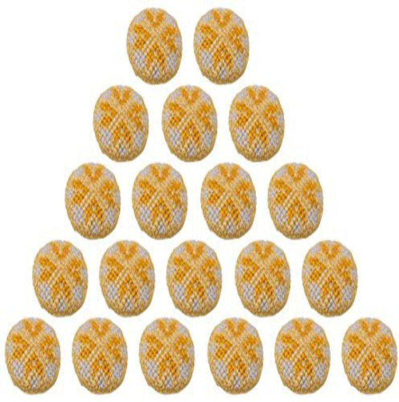Fabric and Lace BT005c Metal Buttons(Pack of 20)