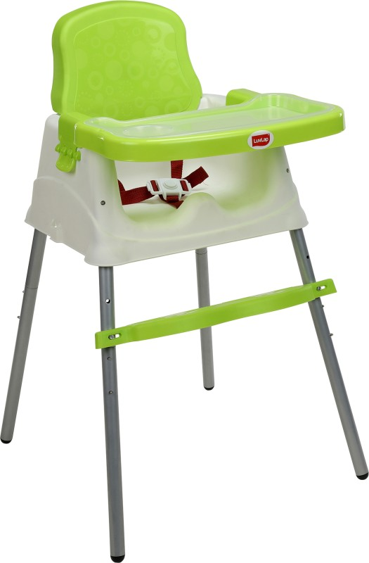 LuvLap 4 in 1 Convertible High Chair Cum Booster Seat(Green)