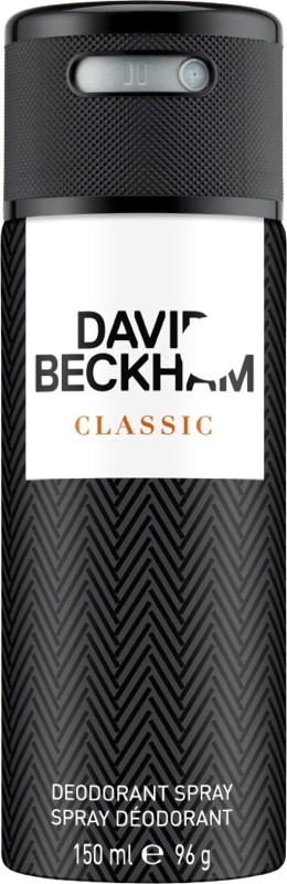 David Beckham Classic (New) Deodorant Spray - For Men(150 ml)