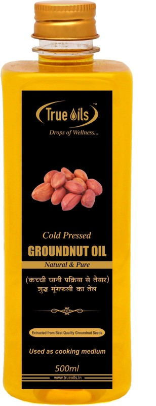 True Oils Cold Pressed Oil Groundnut Oil 500 ml
