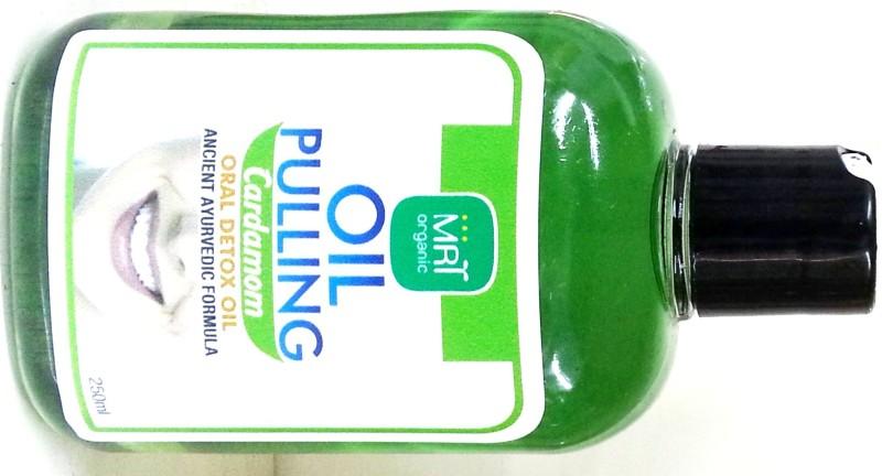 mrtorganic Oil Pulling Cardamom Flavour - Cardamom(250 ml)