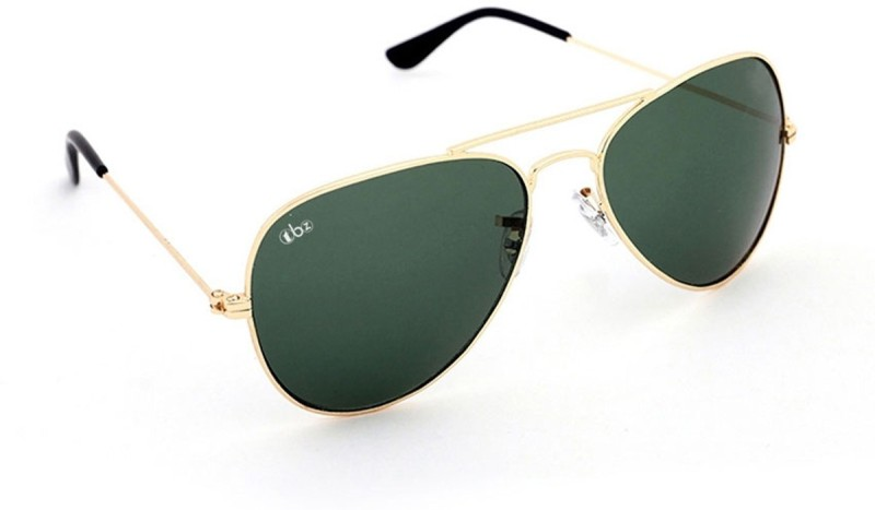 TBZ Aviator Sunglasses(Green) image