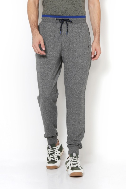 Van Heusen Printed Mens Grey Track Pants