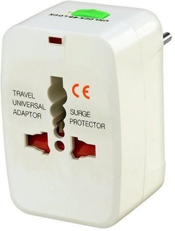 Premsons Adaptor Worldwide Adaptor(White)