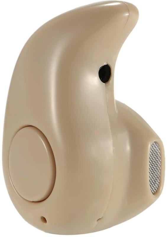 Padraig Mini Wireless Bluetooth 4.0 Invisible Earphone Headset Headphone Inear Earbud Support Hands-free Calling Bluetooth Headset(Brown, Wireless in the ear)