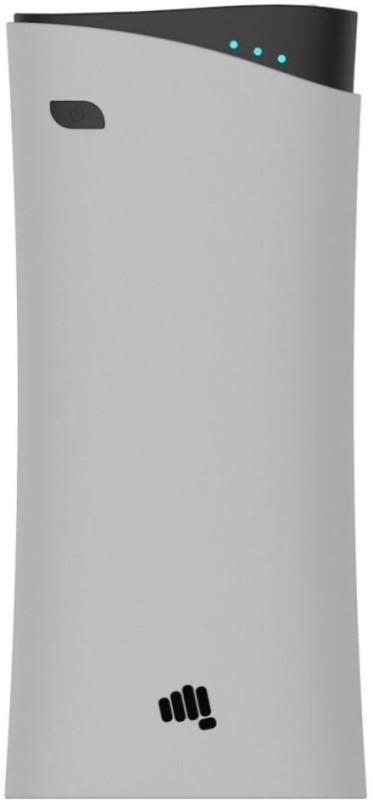 Micromax 10400 mAh Power Bank (MXAPBKA100, 10400 Mah Grey)(Grey, Lithium-ion)