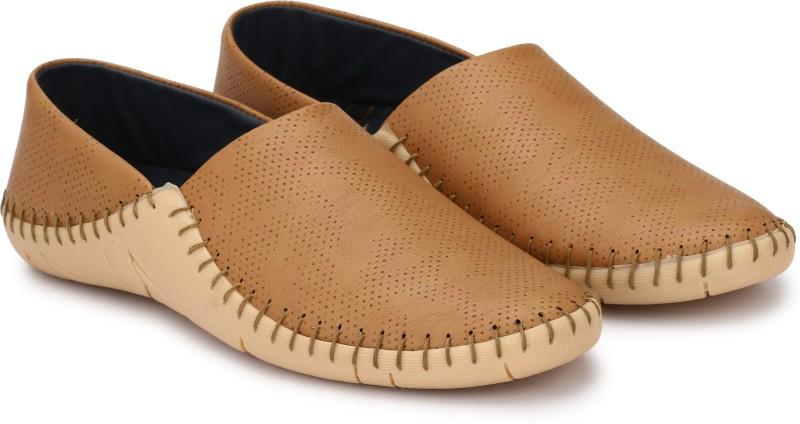 Andrew Scott High Grade PU Loafers For Men(Beige)