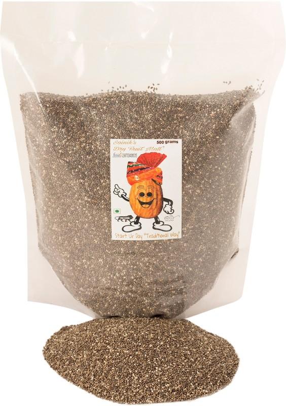 Sainik's Dry Fruit Mall Chia Seeds(500 g)