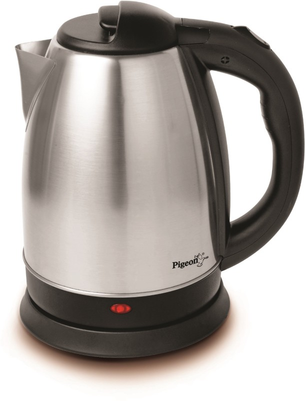 Pigeon Favourite Electric Kettle(1.5 L, Silver, Black)