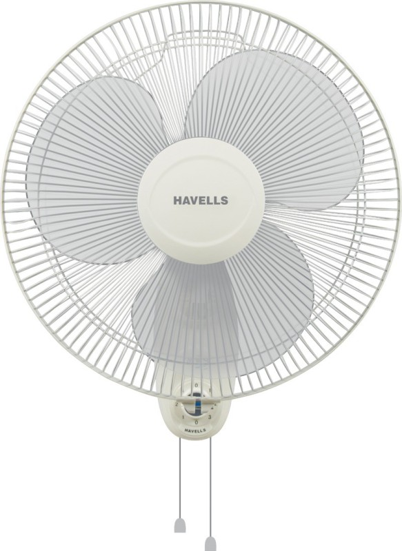 Havells 400 MM SWING WALL FAN OFF WHITE 3 Blade Wall Fan(Off White)