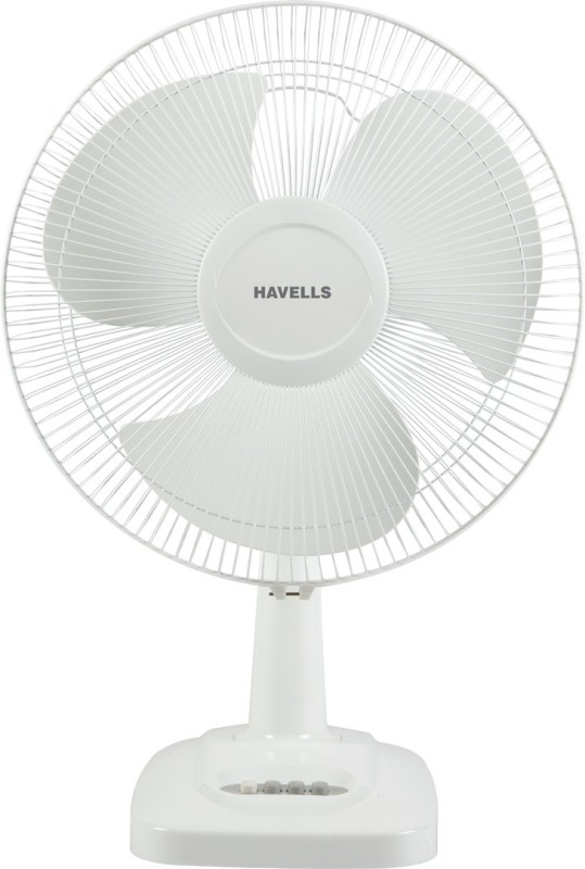 Havells 400 MM VELOCITY NEO HS TABLE FAN WHITE 3 Blade Table Fan(White)