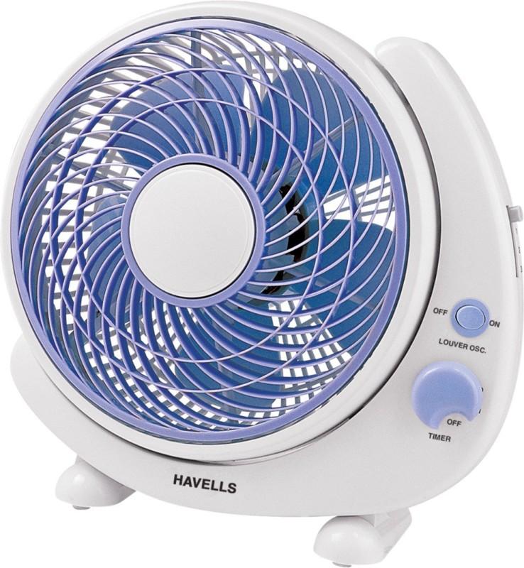 Havells 250 MM CRESCENT BLUE PERSONAL FAN 5 Blade Wall Fan(Blue)