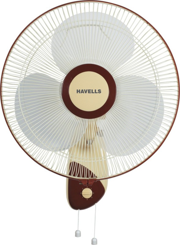 Havells 400MM SWANKY WALL FAN BROWN 3 Blade Wall Fan(Multi color)