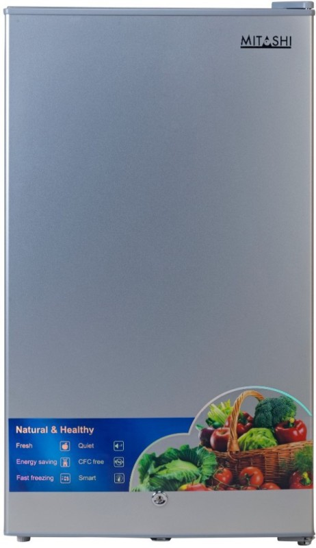 Mitashi 87 L Direct Cool Single Door 2 Star Refrigerator(Silver, MSD090RF100)