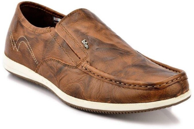 Lee Cooper Loafers For Men(Tan)