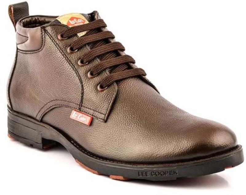 Lee Cooper Men Boots For Men(Brown)