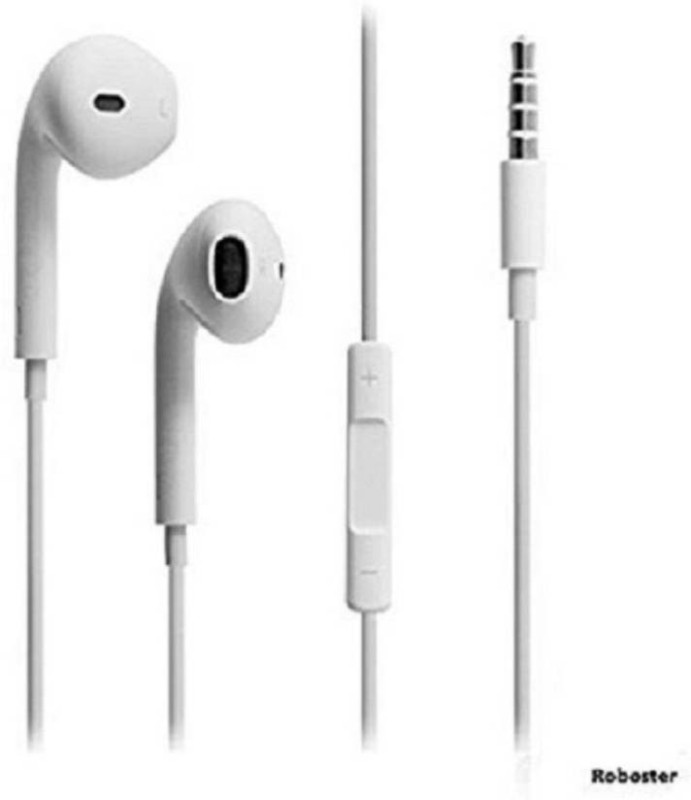 Aer For Apple In-Ear Headphones with Microphone and Noise Isolating headset for Apple iPhone iPod iPad Samsung Galaxy S7 S8 and Android Devices (White) Headset with Mic (White, In the Ear) Wired Headset with Mic  (White, In the Ear) Smart Headphones(Wired)