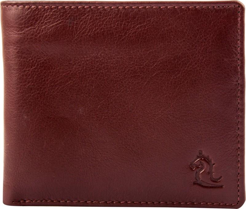 Kara Men Tan Genuine Leather Wallet(6 Card Slots)