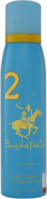 Beverly Hills Polo Club 2 Deodorant Spray for Women, 150ml Deodorant Spray - For Women(150 ml)