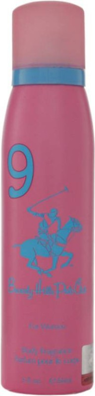 Beverly Hills Polo Club 9 Fragrance Spray for Women, 150ml Deodorant Spray - For Women(150 ml)