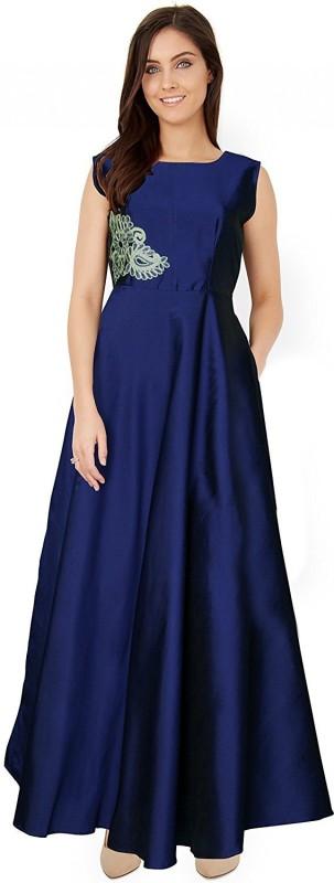 Spangel Enterprise Ball Gown(Dark Blue)