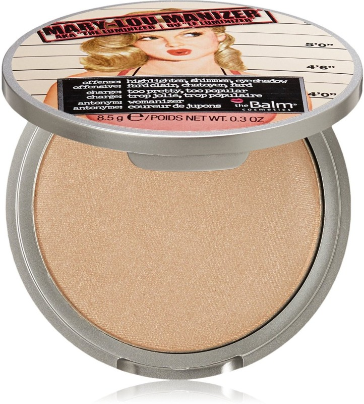 The Balm Mary-Lou Manizer Highlighter, Shadow & Shimmer - Gold 1 ml(Gold)