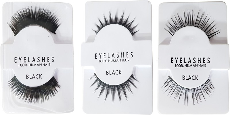 Fully Eye Lashes – Party Wear For Eye Makeup (Normal + Medium + Heavy)(Pack of 6)