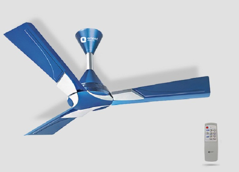 Orient Electric WENDY 1200 mm 3 Blade Ceiling Fan(BLUR AGURA SILVER, Pack of 1)