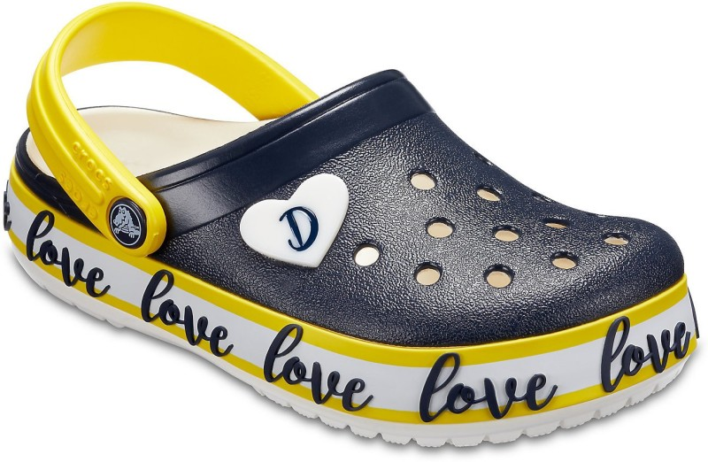 Crocs Boys Slip-on Clogs(Dark Blue)