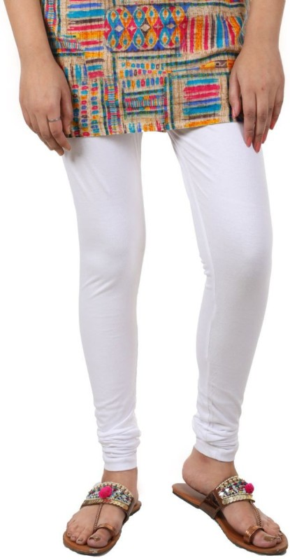 A.A Enterprise Footed  Legging(White, Solid)