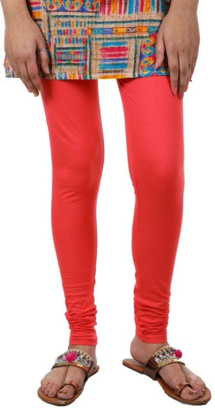 A.A Enterprise Footed  Legging(Red, Solid)