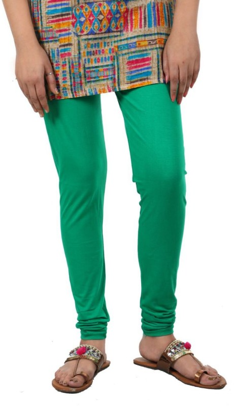 A.A Enterprise Footed  Legging(Green, Solid)